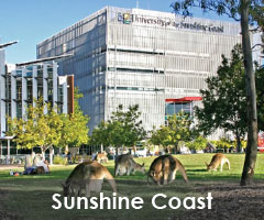 Reviews of the University of the Sunshine Coast (USC).