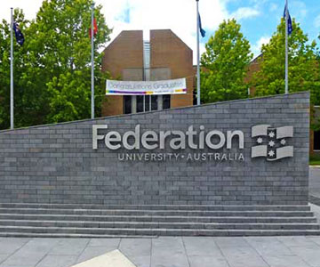 Federation University reviews by students.