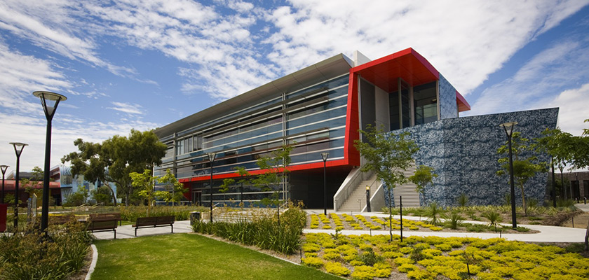 Edith Cowan University (ECU) Business and Law Building, Mt Lawley.