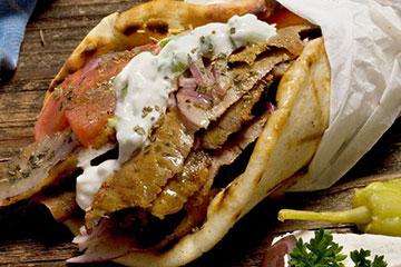 Souvlaki / doner kebab