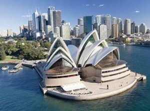 Sydney in New South Wales, Australia.